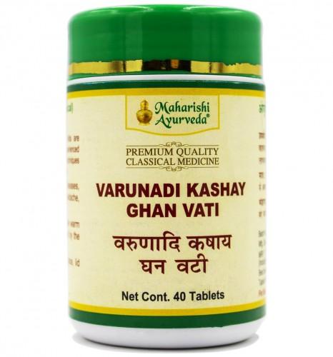 Варунади кашая гханавати, Махариши Аюрведа (Varunadi Kashay Ghan Vati, Maharishi Ayurveda) 40таб - 1