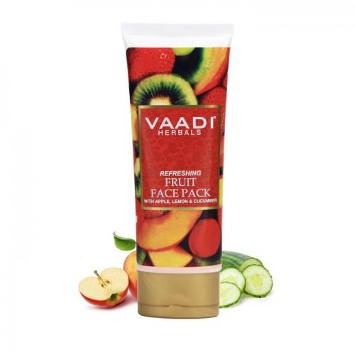 Маска для лица Фруктовая, Ваади (Refreshing Fruit Face Pack, Vaadi) 120 мл - 1