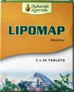 Липомап, Махариши Аюрведа (Lipomap, Maharishi Ayurveda) 40 таб - 1