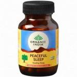 Здоровый сон, Органик Индия (Peaceful Sleep, Organic India) 60 кап