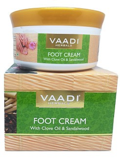 Крем для ног Гвоздика и Сандал, Ваади (Foot Cream Clove and Sandal, Vaadi) 150 мл - 1