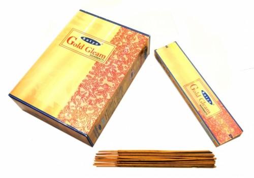 Благовония Gold Gleam (Satya) 25 грамм - 1