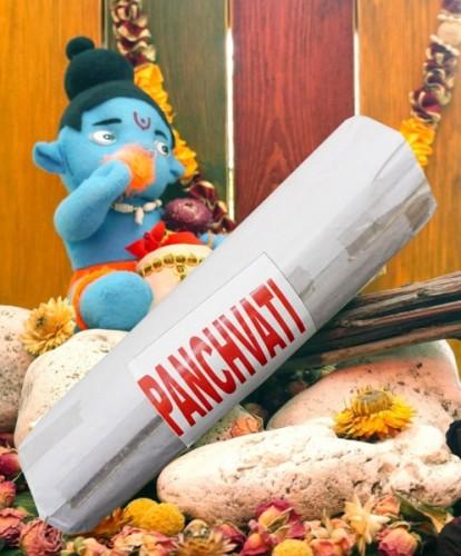 Благовония Panchwati 250 грамм упаковка (Вриндаван) - 1