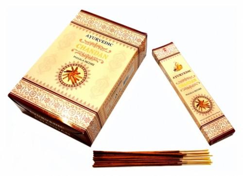 Благовония Chandan (Ayurvedic) 20 грамм - 1