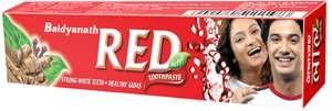 Зубная паста Ред, Бадьянатх (Tooth paste Red, Baidyanath) 100 гр - 1
