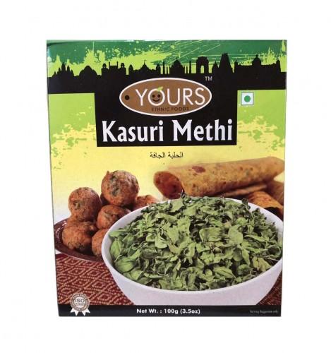 Сушеные листья пажитника/шамбала (Kasuri Methi, Yours Etnic Foods) 100 гр - 1