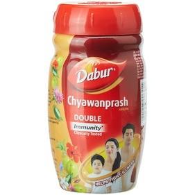Чаванпраш Двойной иммунитет, Дабур (Chyawanprash Double Immunity, Dabur) 1 кг - 1