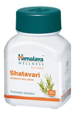 Шатавари Хималая, (Shatavari, Himalaya) 60 таб - 1