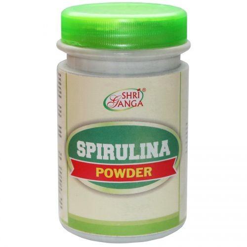 Спирулина Чурна, Шри Ганга (Spirulina , Shri Ganga) 100 гр - 1