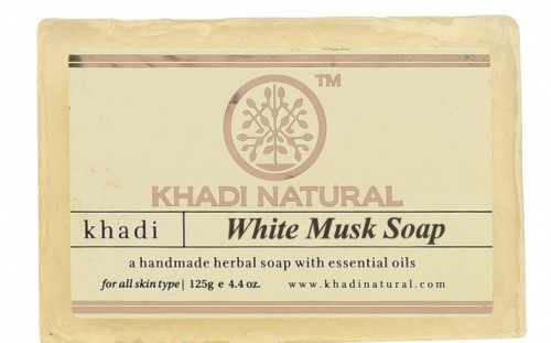Мыло Белый Мускус (Кхади, Khadi) 125 гр. - 1
