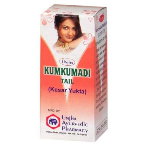 Кумкумади масло для лица (Kumkumadi tail, Unjha) 15 мл - 1