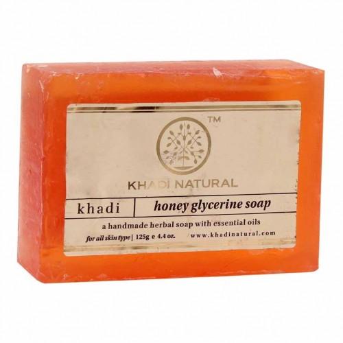 Мыло Мед и глицерин (Кхади, Khadi) 125 гр. - 1