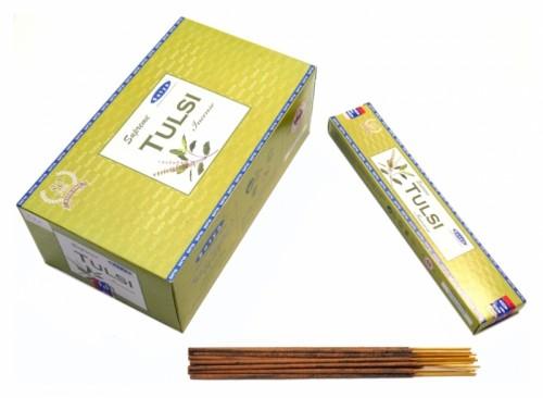 Благовония Supreme Tulsi (Satya) 15 грамм - 1