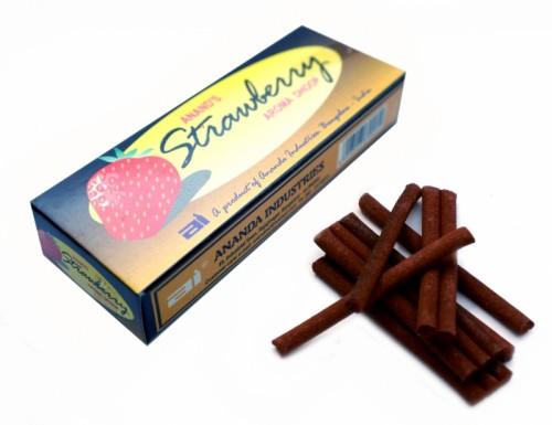 Благовония ANAND'S STRAWBERRY DHOOP 20 грамм (безосновные) Клубника - 1