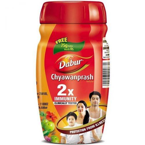 Чаванпраш, Дабур, Двойной иммунитет (Chyawanprash Dabur) 575 гр - 1