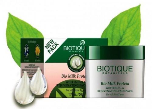 Био Молочный протеин маска (Biotique Bio Milk protein pack) 50 гр - 1
