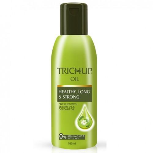 Масло от выпадения волос Тричуп, Васу (Trichup Oil Hair Fall Control, Vasu) 100 мл - 1