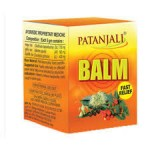 Бальзам Балм, Патанджали (Balm, Patanjali) 10 гр