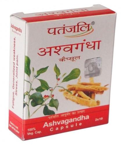 Ашвагандха экстракт (Ashwagandha, Patanjali) 20 капс. - 1