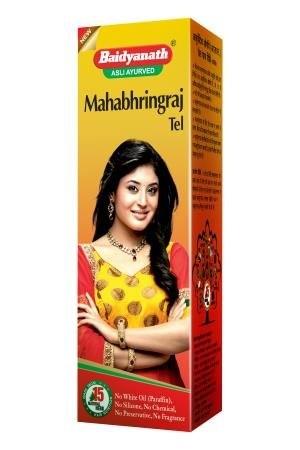 Махабрингарадж масло, Бадьянатх (Mahabhringraj tail, Baidyanath), 100 мл - 1