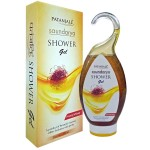 Гель для душа с медом и шафраном, Саундарья  Патанджали (Shower gel with honey and kesar, Saundarya, Patanjali) 250 мл