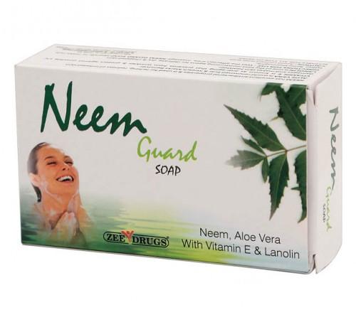 Мыло антибактериальное Ним и Алое Вера (Neem Guard, Zee Drugs) 75 грм. - 1