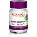 Ним экстракт, Патанджали (Neem Ghanvati, Panajali) 60 таб