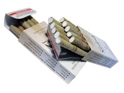 Нирдош, сигареты без никотина (Nirdosh Maans) 10 шт - 1