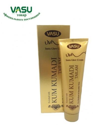 Крем для лица Кумкумади, Васу (UVA Insta Glow Cream Anti-Ageing Kumkumadi, Vasu) 50 мл - 1
