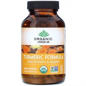 Куркума, Органик Индия (Turmeric Formula Organic India) 60 кап - 1