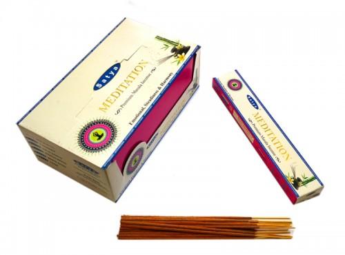 Благовония Premium Meditation (Satya) 15 грамм - 1