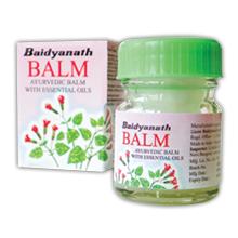 Бальзам Balm обезболивающий, Байдьянатх (Balm, Baidyanath) 10гр - 1