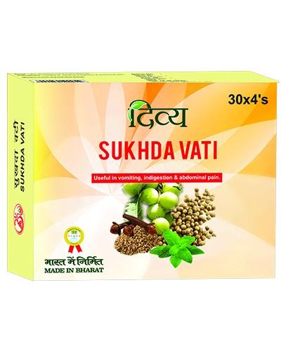 Дивья Сукхда Вати, Патанджали (Divya Sukhda Vati, Patanjali) 120 таб - 1