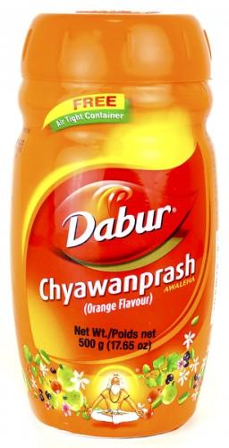 Чаванпраш Апельсиновый (Chavanprash Orange, Dabur), 500 гр - 1
