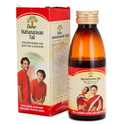 Маханараян масло, Дабур (Mahanarayan tail, Dabur) 100 мл - 1