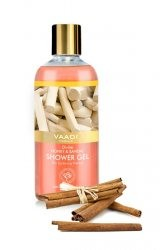 Гель для душа Мед и Сандал, Ваади (Divine Honey and Sandal Shower Gel, Vaadi) 300мл - 1