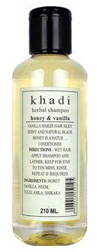 Шампунь Кхади Мед и Ваниль (Honey-Vanilla, Khadi) 210 мл - 1