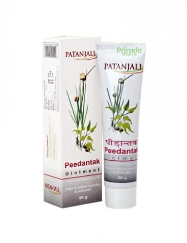 Крем Пидантак для суставов и мышц, Патанджали (Peedantak Cream, Patanjali) 50 мл - 1