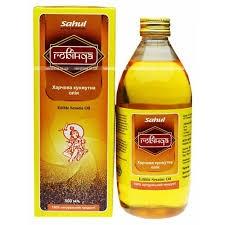 Кунжутное масло Говинда, Сахул (Edible Sesame Oil, Sahul) 500мл - 1