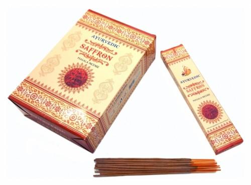 Благовония Saffron (Ayurvedic) 20 грамм - 1