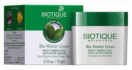 Био Грушанка (Biotique Winter green cream), 15 гр - 1