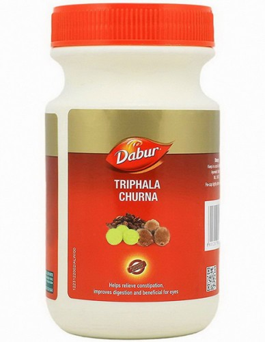 Трифала Чурна, Дабур (Triphala churna, Dabur) 500 грамм - 1