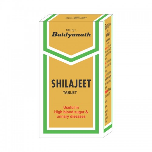 Шиладжит Баидьянтах (Shilajit, Baidyanath) 50 таб - 1
