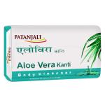 Мыло увлажняющее KANTI с алоевера (Patanjali) 75 гр