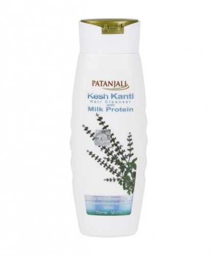 Шампунь Кеш канти Молочные протеины (Kesh Kanti Milk Protein, Patanjali), 200 мл - 1