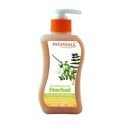 Жидкое антибактериальное мыло Патанджали, (Patanjali Anti-Bacterial Herbal Hand Wash) 250мл - 1