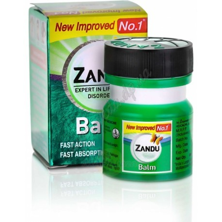 Бальзам обезболивающий, Занду( Zandu Balm) 8 мл - 1