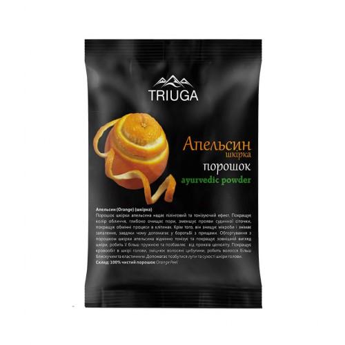 Апельсиновый порошок цедры, Триюга (Orange Peel Powder, Triuga) 50 грамм - 1
