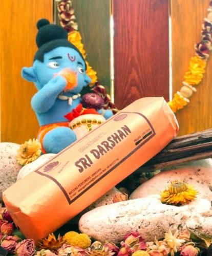 Благовония Shri Darshan 250 грамм упаковка (Вриндаван) - 1