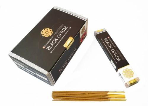 Благовония Garden Fresh Black Opium 15 палочек в пачке. 15 грамм - 1